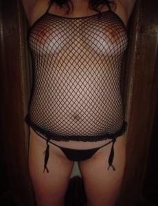 Gallery for Thick hottie in  fishnet