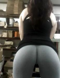 Gallery for oh hi there Yoga pants!